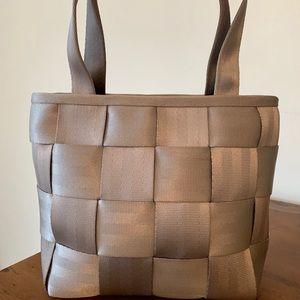 Silver bag by Harveys